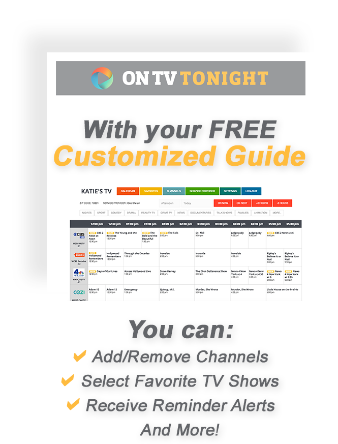 Setup your Free TV Listings!